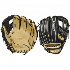 "Wilson 11.5"" A2000 Black & Blonde Baseball Glove, WTA20RB181786"