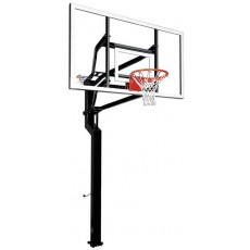 "Goalsetter MVP Signature Series Outdoor Basketball Hoop w/ 42"" x 72"" Acrylic Board"