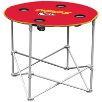 Kansas City Chiefs NFL Pop-Up/Folding Round Table