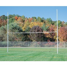 Jaypro HFGP-3 H-Frame Football Goal Posts, WHITE POWDER COATED