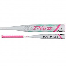 2017 Louisville Diva Fastpitch Softball Bat, -11.5