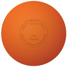 Champro (dz) Official Lacrosse Balls w/ NOCSAE Stamp, Orange