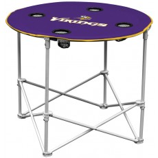 Minnesota Vikings NFL Pop-Up/Folding Round Table