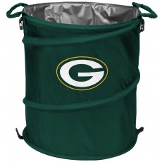 Green Bay Packers NFL Collapsible 3-in-1 Hamper/Cooler/Trashcan