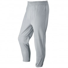 Wilson Elastic Waist Baseball Pants, ADULT, Gray