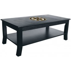 Boston Bruins NHL Hardwood Coffee Table