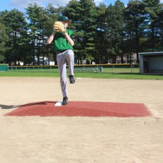 "Promounds MP3003C Major League Game Baseball Mound, 8'3""L x 5'W x 6""H, Clay"