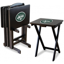 New York Jets NFL TV Snack Tray/Table Set