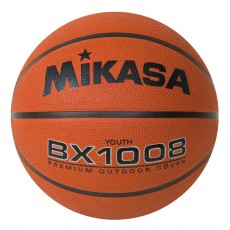 Mikasa BX1008 Varsity Series Rubber Basketball, JUNIOR, 27.5""
