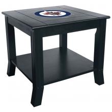 Winnipeg Jets NHL Hardwood Side/End Table