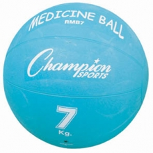 Champion 7 Kilo / 15 lb. Rubber Medicine Ball, RMB7