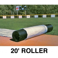 FieldSaver Roller for Infield Cover, 20'