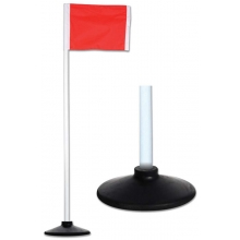 Champro set/4 All-Surface Official Soccer Corner Flags w/ Rubber Base, A197RB