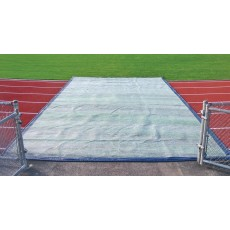 TrackSaver Premium Weighted Track Cover, 14' x 100'