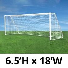 Jaypro 6.5' x 18' Classic Club Soccer Goals, CC18S (pair)