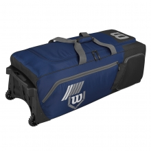"Wilson Pudge 2.0 Wheeled Equipment Bag, WTA9721, 39""L x 16.5""W x 13""H"