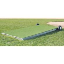 "Promounds MP2035 Collegiate Portable Batting Practice Pitching Platform, 7'L x 3'W x 6-10""H, Green"