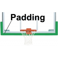Bison BA68U Dura-Skin Basketball Backboard Edge Padding