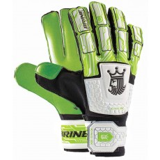 Brine SGKGM34 King Match 3X Soccer Goalkeeper Gloves, LIME GREEN