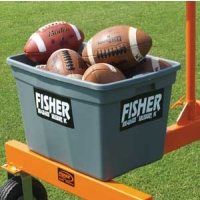Fisher JCBB Jugs Football Machine Cart Ball Bin