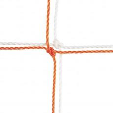 Champion 204 Official Soccer Nets, 3.5mm, 8' x 24' x 4' x 10' (pr)
