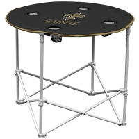 New Orleans Saints NFL Pop-Up/Folding Round Table