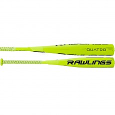 "2017 Rawlings Quatro Composite 2 5/8"" Barrel BBCOR Baseball Bat, -3"