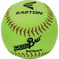 "Easton A122605T Incrediball Neon SofTouch Training Softball, 12"", ea"