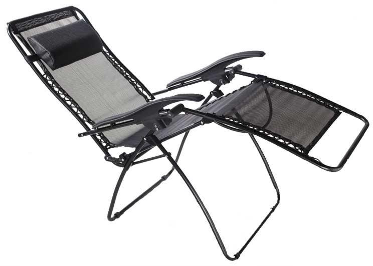 Travelchair Lounge Lizard Folding Chair Salt Amp Pepper