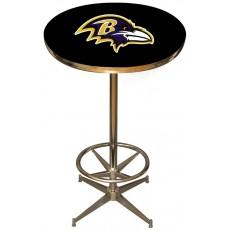 Baltimore Ravens NFL Pub Table