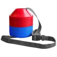 Kwik Goal 6A15 Mini Disc Cones Kit, 50/Kit