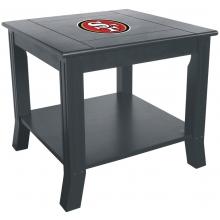 San Francisco 49ers NFL Hardwood Side/End Table