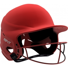 Rip-It SMALL/MED Vision Pro MATTE Fastpitch Softball Batting Helmet, VISJ-M