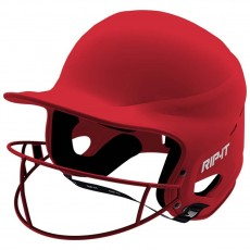 Rip-It XS Vision Pro MATTE Fastpitch Softball Batting Helmet, VISS