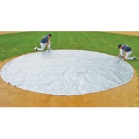 FieldSaver 26' diameter Home Plate Cover, WOVEN POLY