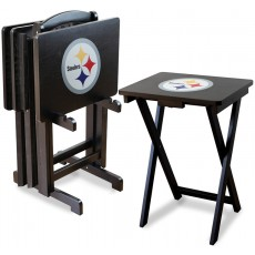 Pittsburgh Steelers NFL TV Snack Tray/Table Set
