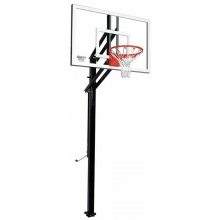 "Goalsetter X454 Extreme Series Outdoor Basketball Unit w/ 36"" x 54"" Glass Board"