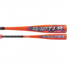 2018 Rawlings Raptor -8 (2-5/8) USA Youth Baseball Bat, US8R8