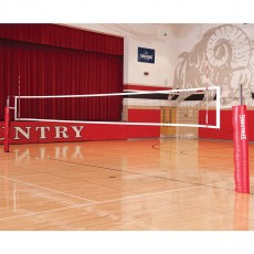 Spalding SES110 Elite Steel Volleyball Net System, 3""
