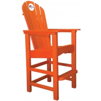 Denver Broncos NFL Outdoor Pub Captains Chair, ORANGE