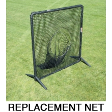 Jugs REPLACEMENT NET for Protector Series 7' x 7' Batting Screen w/ Sock Net