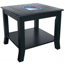 New York Rangers NHL Hardwood Side/End Table