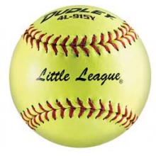 "Dudley SY12 47/375 Fastpitch Little League Softballs, Synthetic, 12"", dz"
