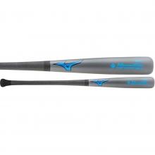 Mizuno MZMC243 Maple/Carbon Composite Baseball Bat, Gray/Blue