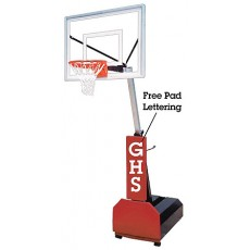 First Team Fury III Portable Basketball Hoop