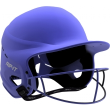 Rip-It MEDIUM/LARGE Vision Pro MATTE Fastpitch Softball Batting Helmet, VISN-M