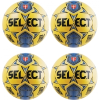 Select NJCAA Super FIFA Match Ball Pkg, Yellow, set of 4