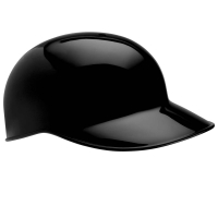 Catcher's / Base Coach Helmet BLACK