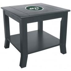 New York Jets NFL Hardwood Side/End Table