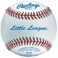 Rawlings RLLB Little League Tournament Baseballs, dz